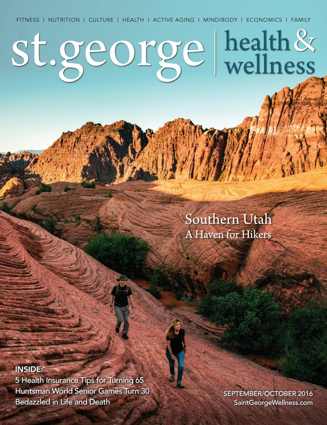 St George Health Wellness September October 2016 By  # Muebles Dixie Merida