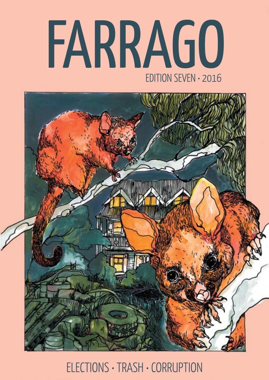 29f71d7ad8d8 2016 Edition 7 by Farrago Magazine - issuu