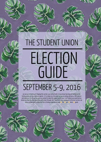 Essay on student union election