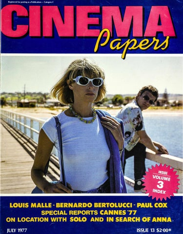 Cinema Papers July 1977 By Uow Library Issuu