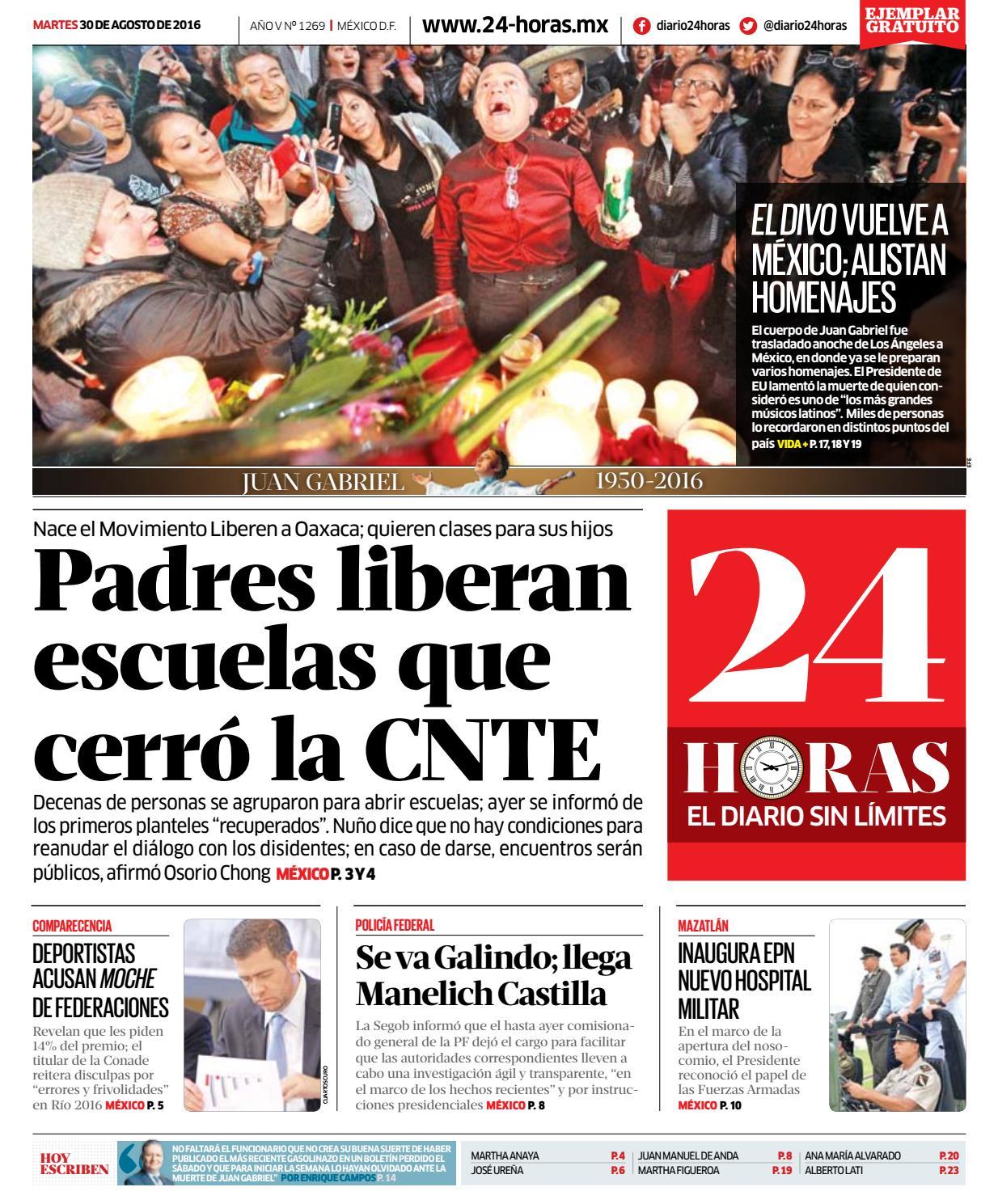 Agosto | 30 | 2016 by Información Integral 24/7 SAPI de C.V. - issuu
