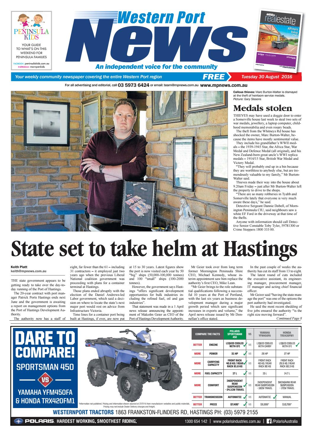 30 August 2016 by Mornington Peninsula News Group - issuu
