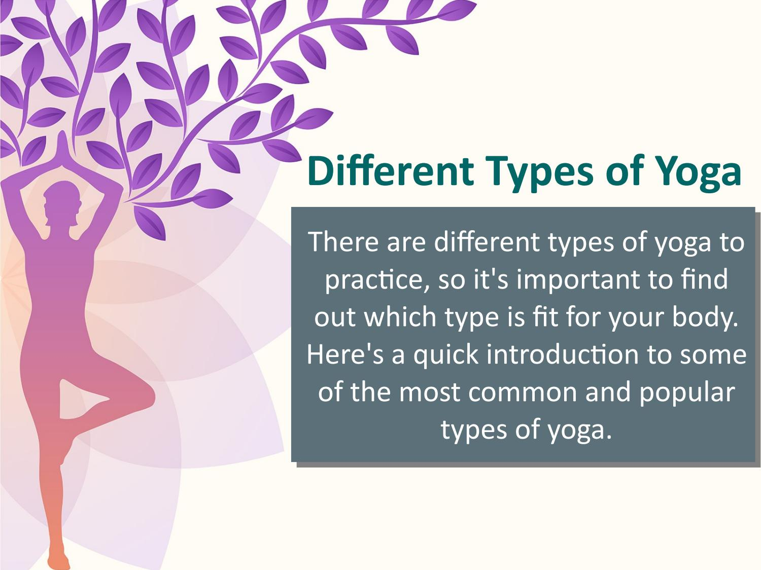Different Types Of Yoga By Jacqui Triegaardt Issuu