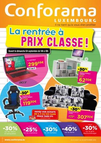 Doc 04 La Rentrée à Prix Classe By Conforama Luxembourg