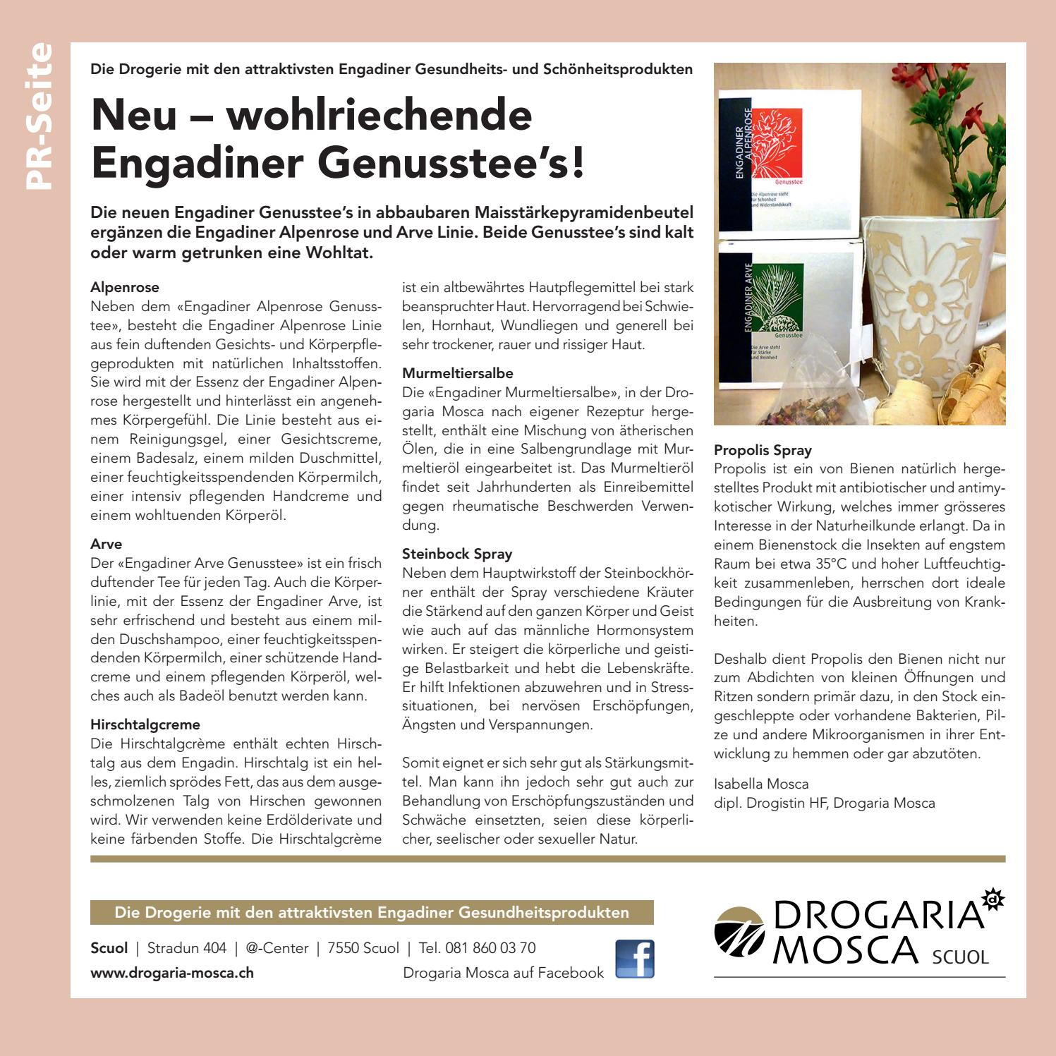 Allegra Nr. 5 by Tourismus Engadin Scuol Samnaun Val Müstair AG - issuu