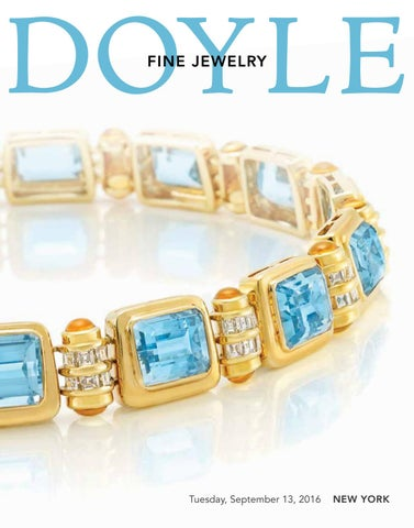 4e513f3ff DOYLE - 16JL04 Fine Jewelry - September 13, 2016 by Doyle - issuu