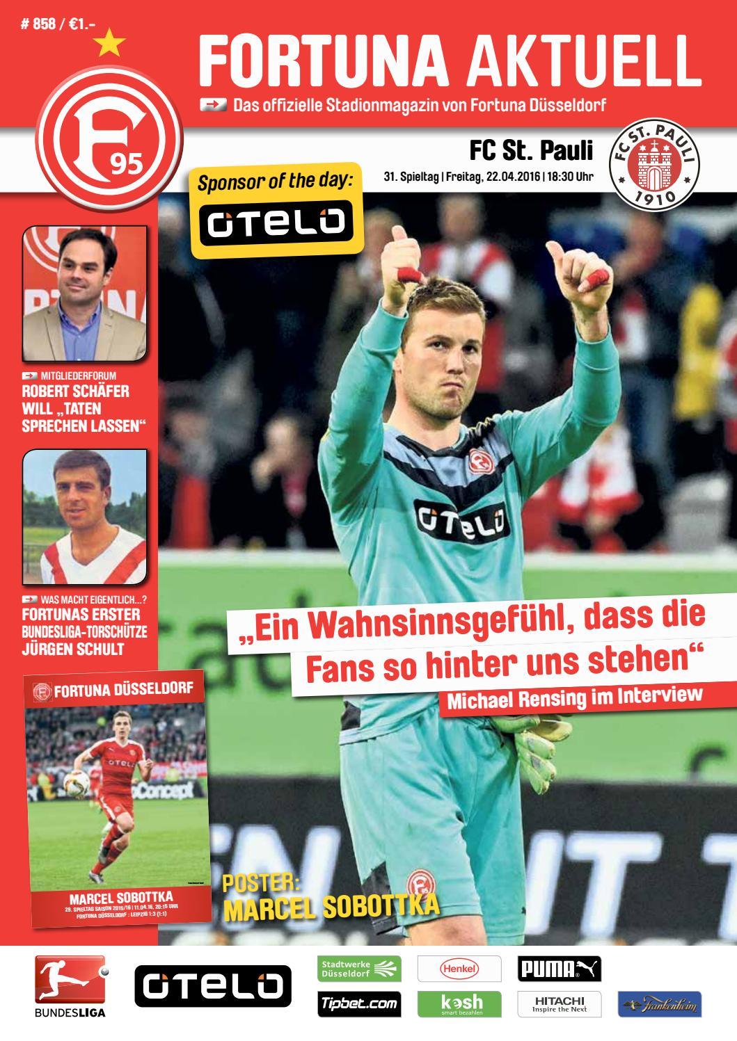 Fortuna Düsseldorf St Pauli