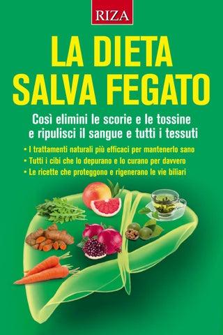 dieta per curare il fegato grasso