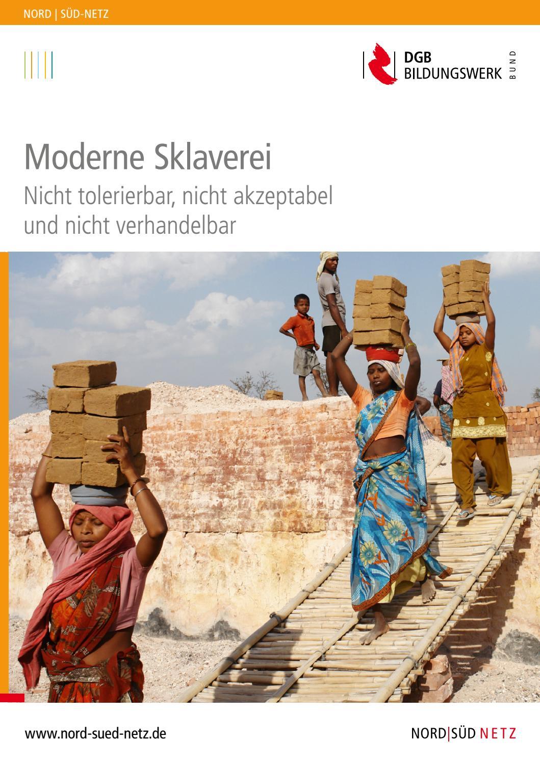 Moderne Sklaverei. Nicht tolerierbar, nicht akzeptabel und nicht ...