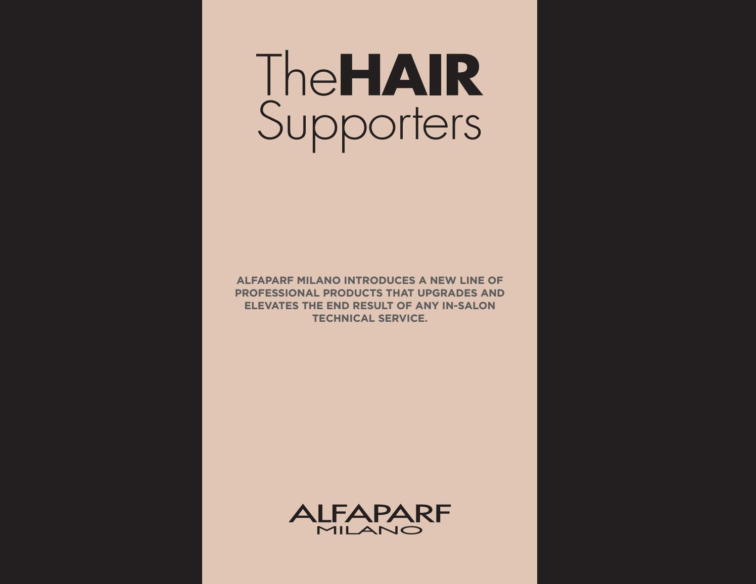 Alfaparf milano the hair supporters by alfaparf milano usa issuu nvjuhfo Images