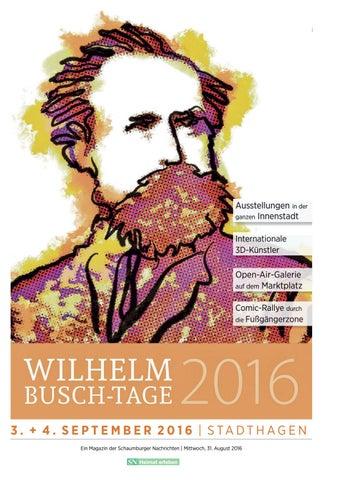 Wilhelm Busch Tage 2016 By Schaumburger Nachrichten