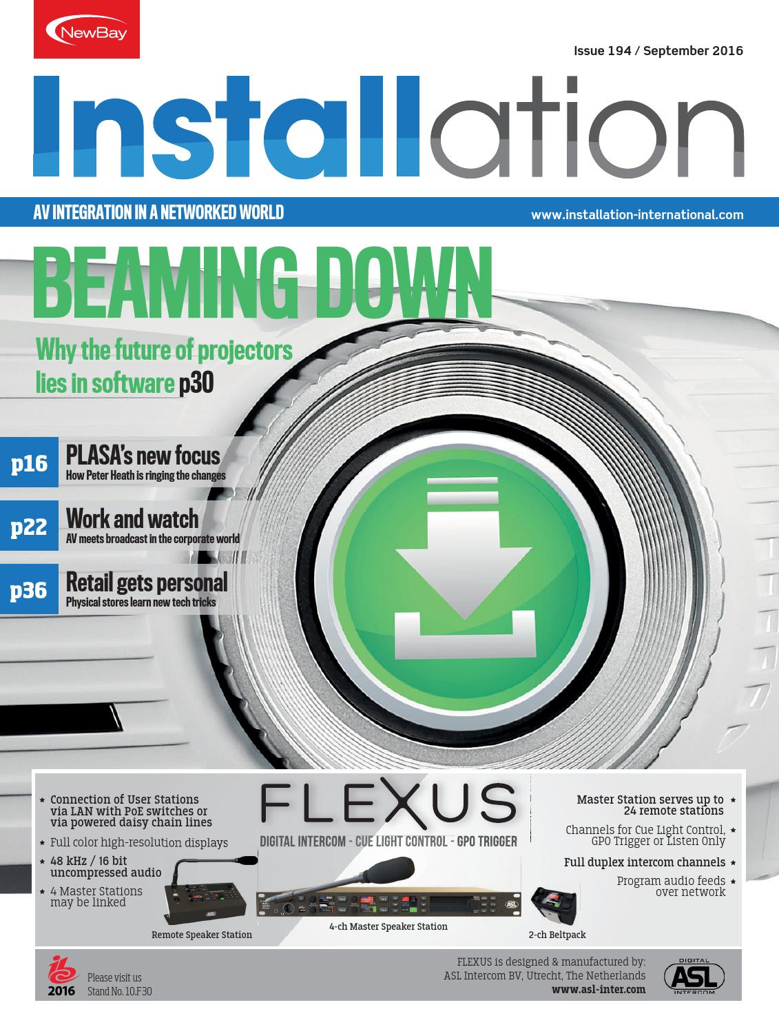 Installation September 2016 Digital Edition By Future Plc Issuu Visit Page Of Simple Intercom Circuit