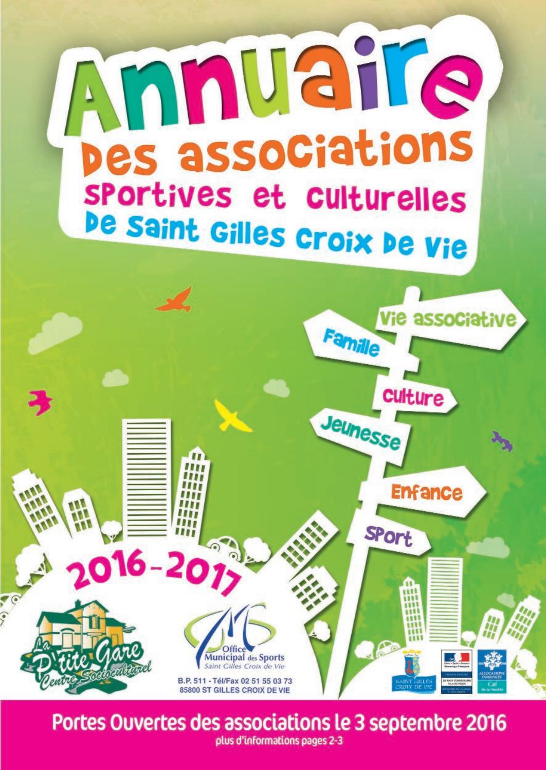 Clic Saint Gilles Croix De Vie annuaire des associations de saint gilles croix de vie 2016