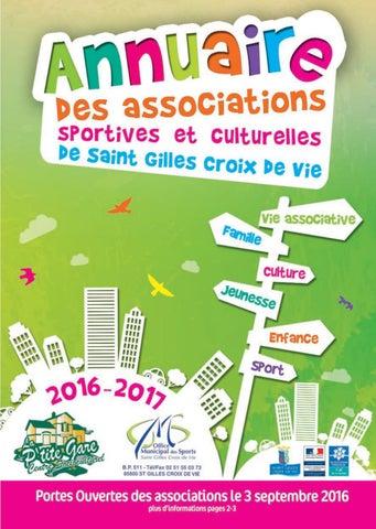 produits chauds qualité parfaite classique Annuaire des associations de Saint Gilles Croix de Vie 2016 ...