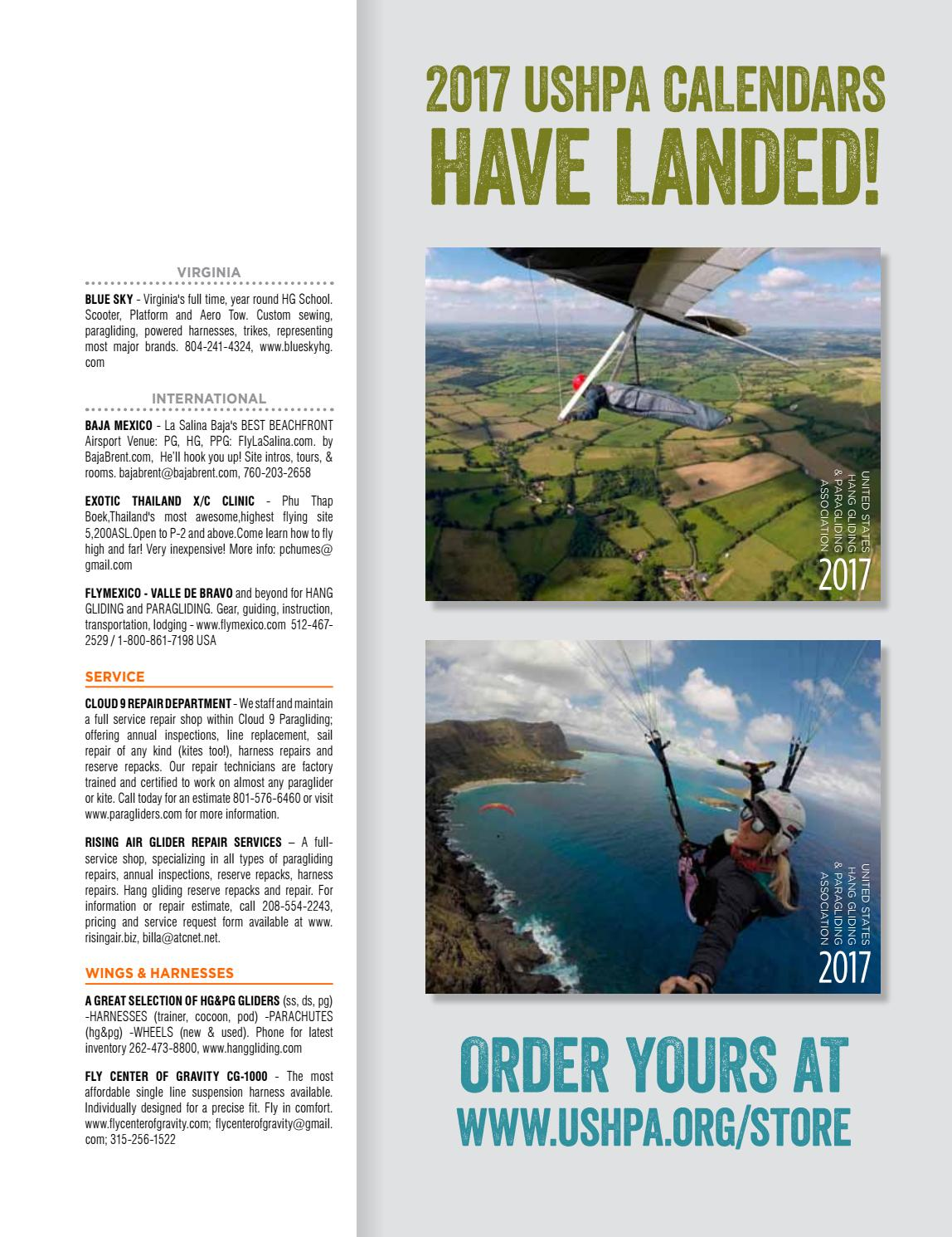 Hang Gliding Paragliding Vol46 Iss5 Sep Oct 2016 By Us Scooter Tow Harness Association Issuu