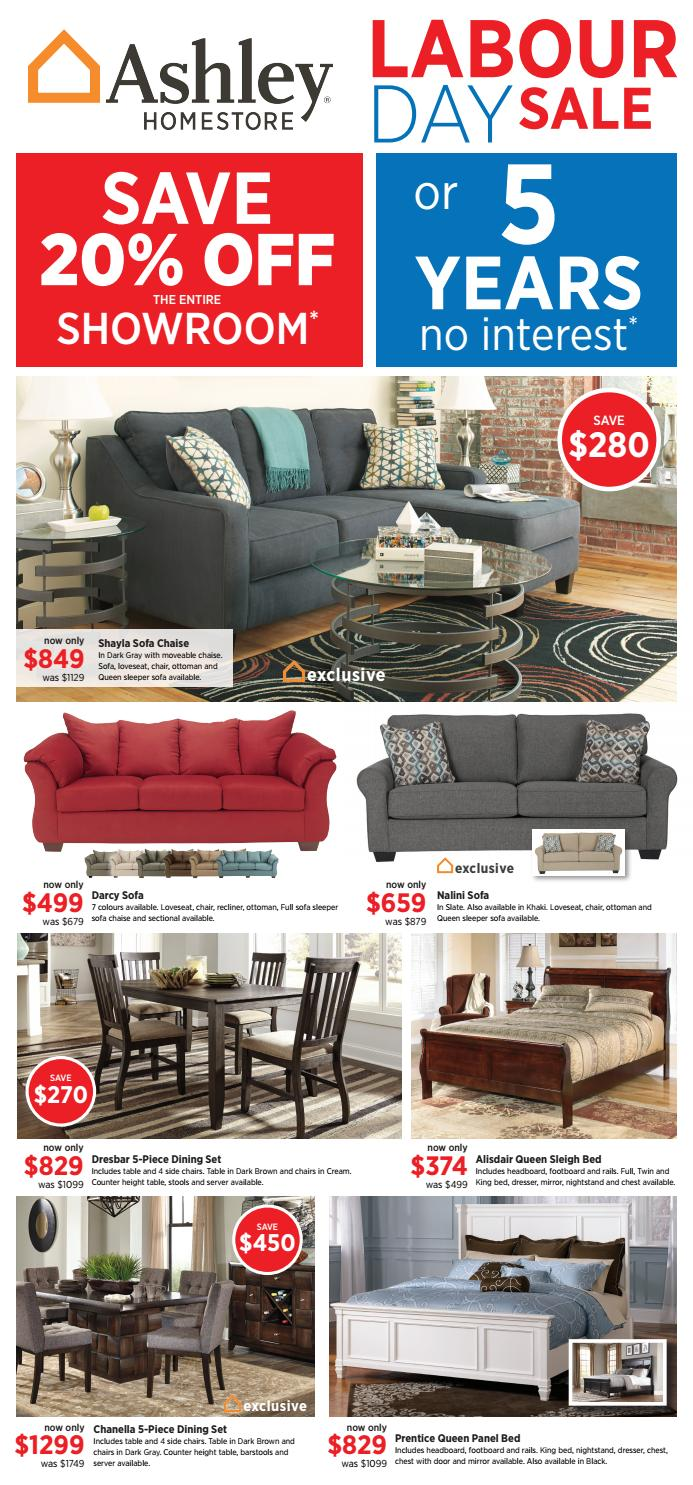 Sensational Ashley Homestore Labour Day Sale Ends 12 09 16 By Ashley Caraccident5 Cool Chair Designs And Ideas Caraccident5Info