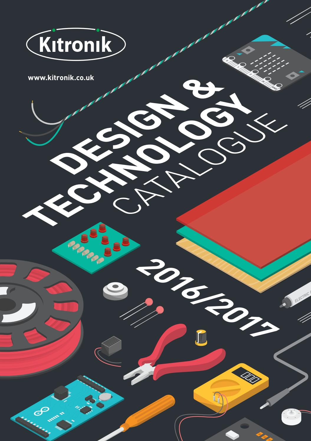 Kitronik Design Technology Catalogue 2016 2017 By Issuu Light Relay Switch Bc547 Amp Bc337
