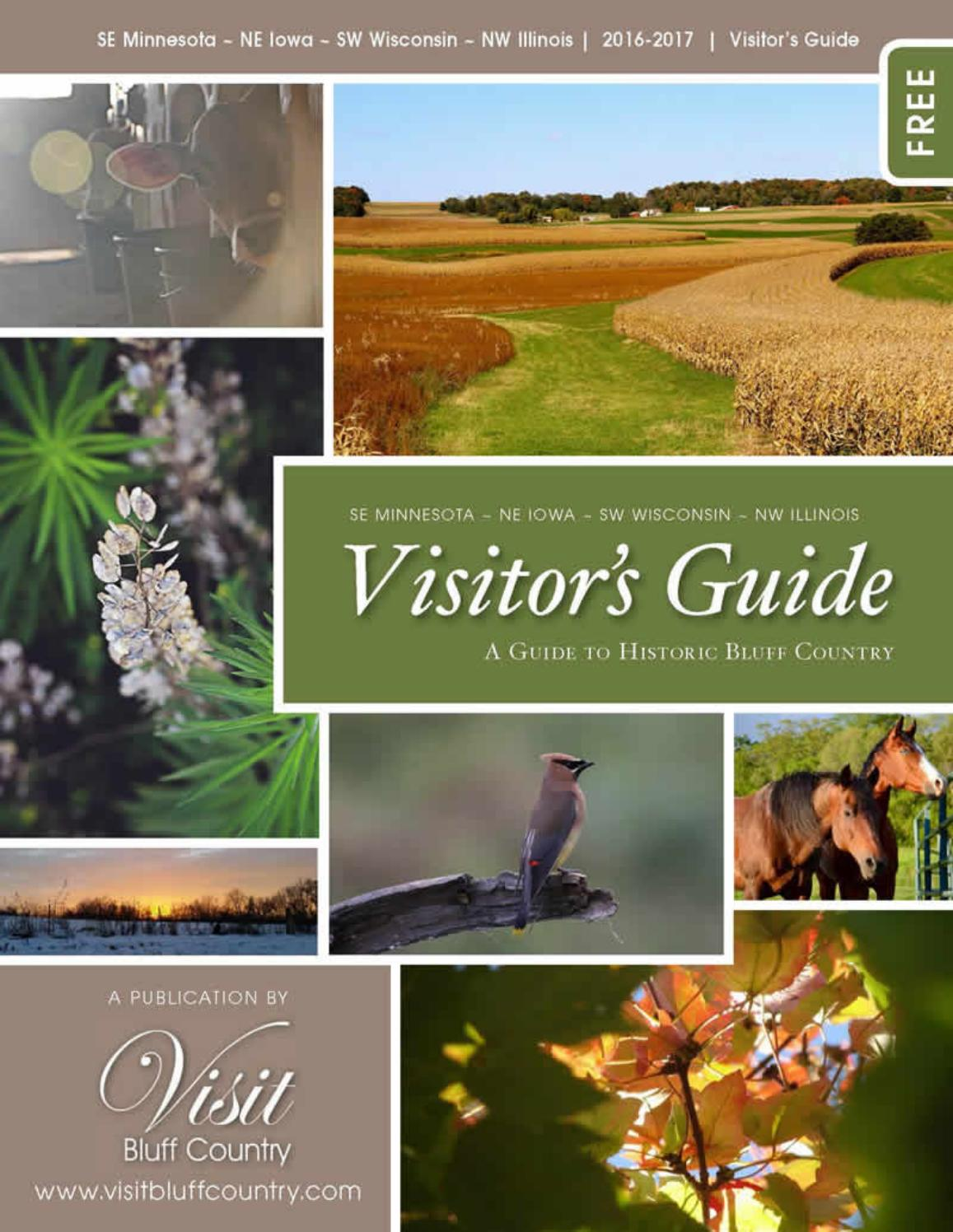 Visit Bluff Country 2016 by Visit Bluff Country - issuu