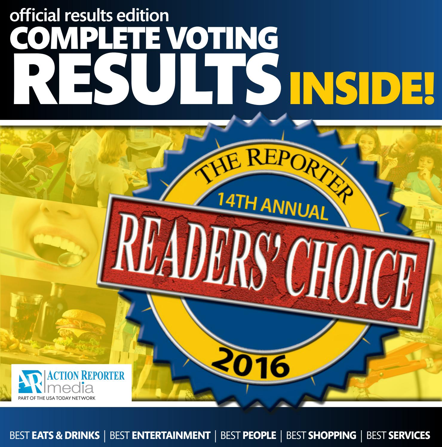 Fond Du Lac Readers Choice 2016 Results By Gannett Wisconsin Media Issuu