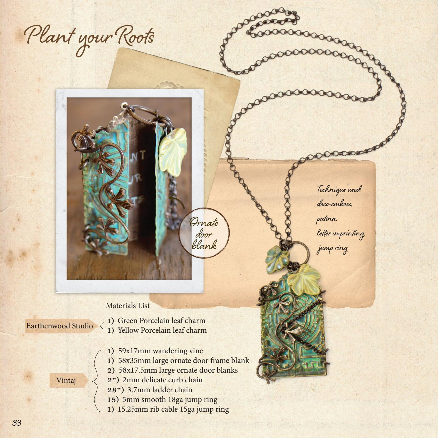 Jess Lincoln Design Techniques & Personal Style by Vintaj