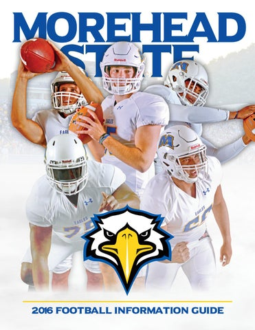 the latest 6c7c0 44f96 2016 Morehead State Football Information Guide by MSU Eagles ...
