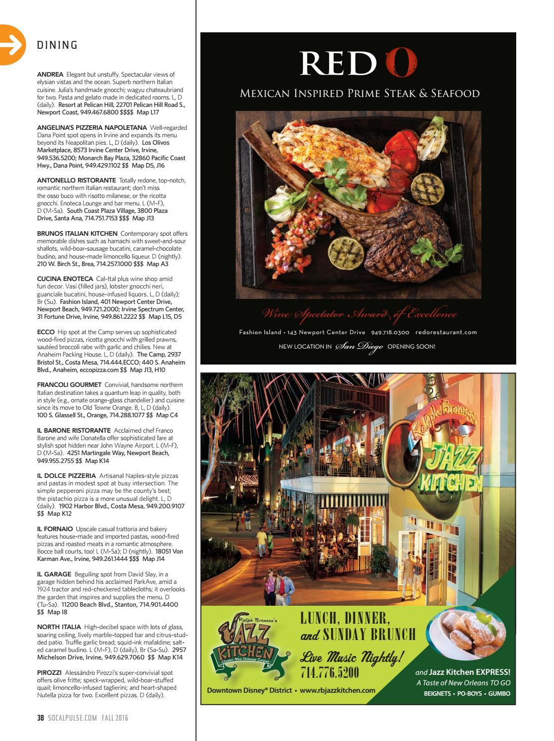 WHERE Orange County Magazine Fall 2016 by SoCalMedia - issuu