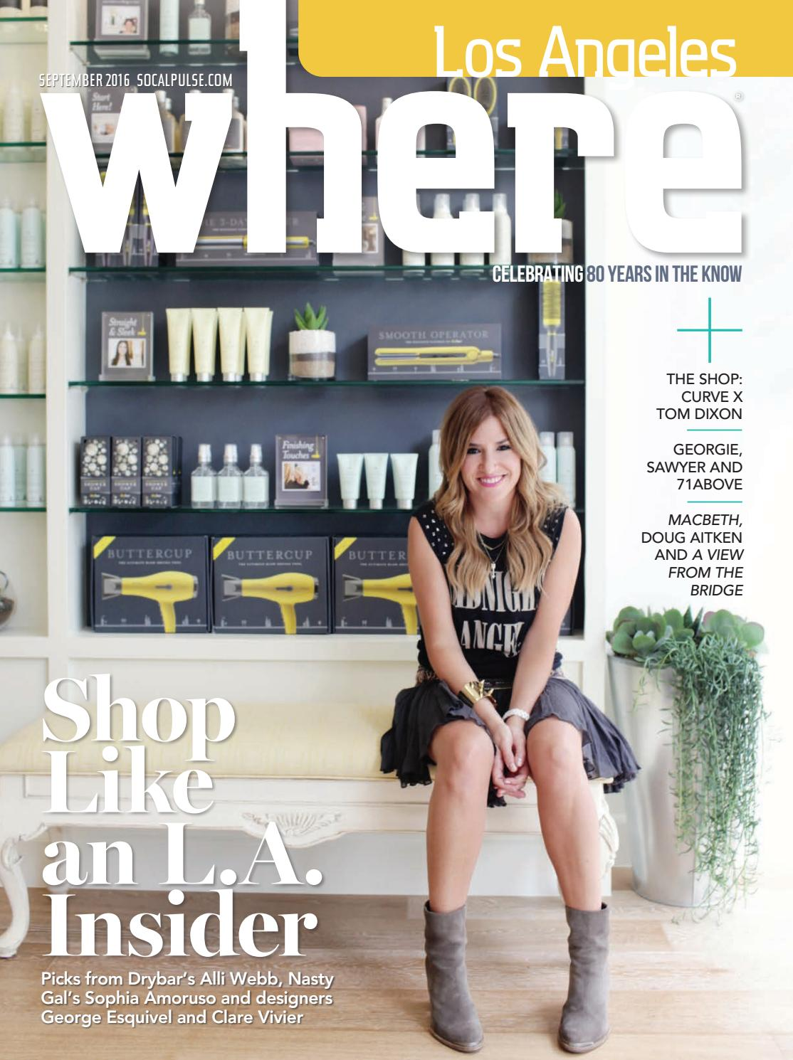 Where Los Angeles Magazine September 2016 By Socalmedia Issuu Freddie The Frog Baby Shoes Gwen Stripes