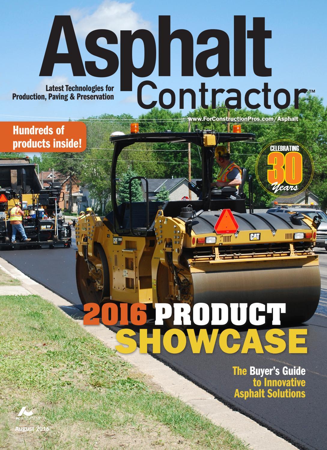 Asphalt Contractor August 2016 By Forconstructionproscom Issuu Cummins Fuel Shut Off Solenoid Wiring Diagram