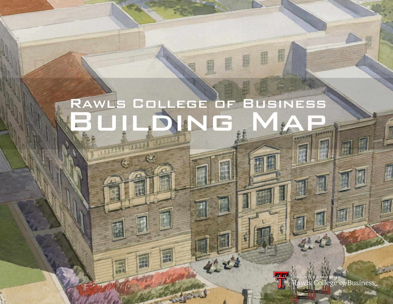 Rawls College of Business Building Map by Rawls College of Business ...