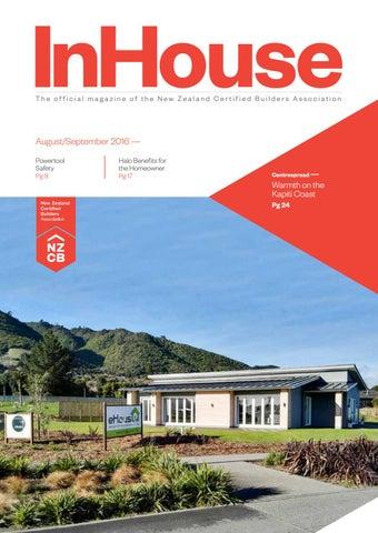 new zealand certified builders inhouse bi monthly magazine by nzcb
