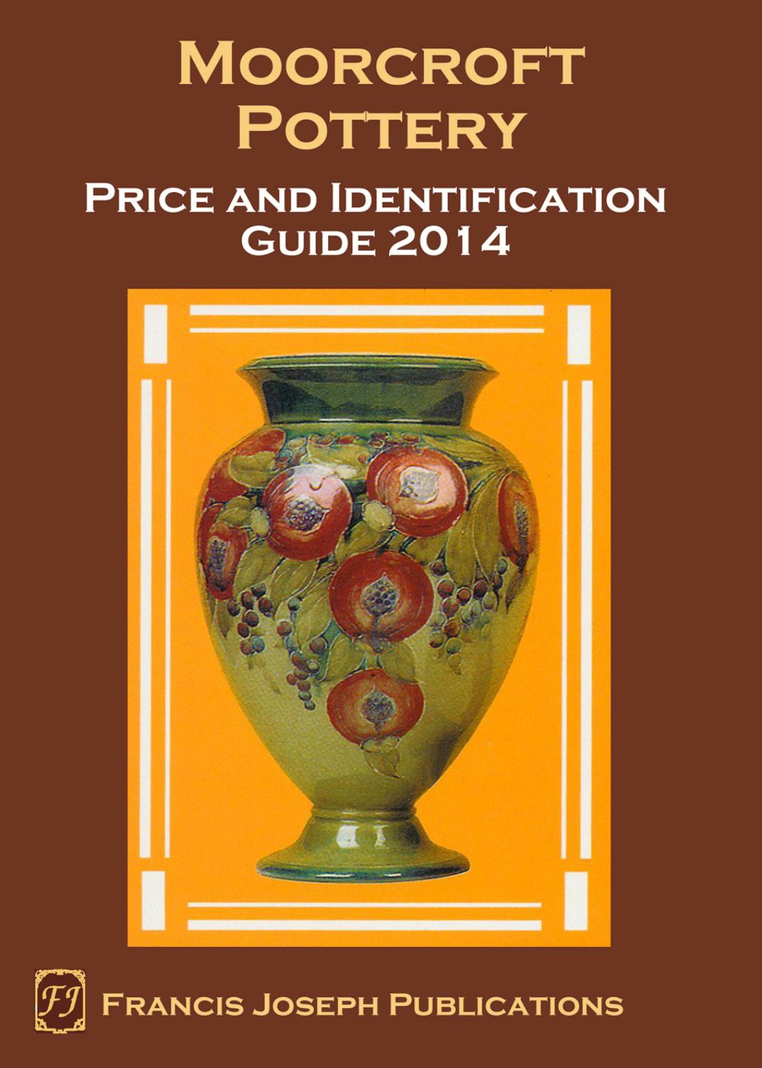The Moorcroft Pottery Collectors Handbook 2014 By Francis