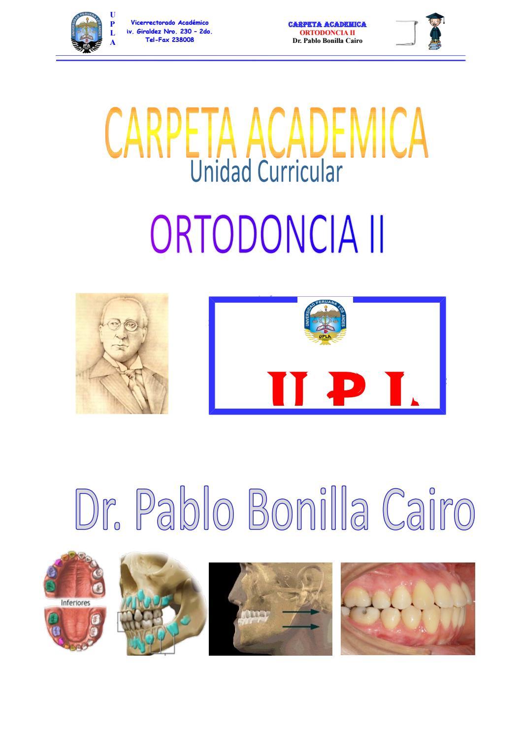 Carpeta academica de orto ii pablo bonilla by pablo - issuu