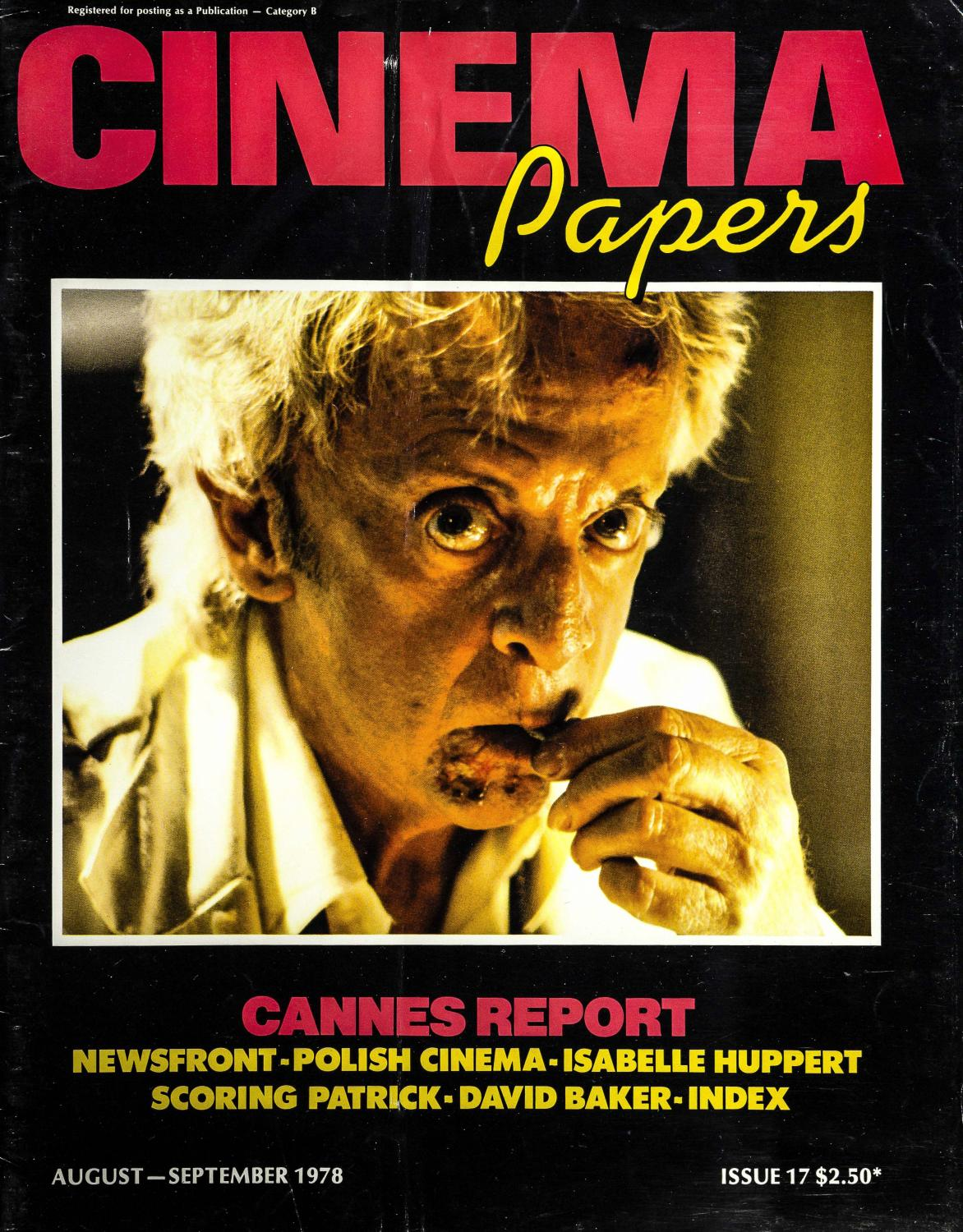 Cinema Papers August-September 1978 by UOW Library - issuu