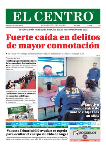 Diario 31-08-2016 by Diario El Centro S.A - issuu 60ba6b1362e97