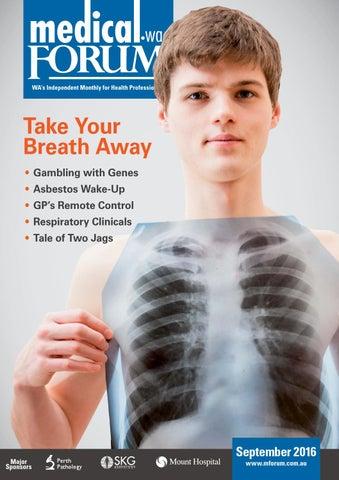 MedicalForumWA 0916 Public Edition by Medical Forum WA - issuu