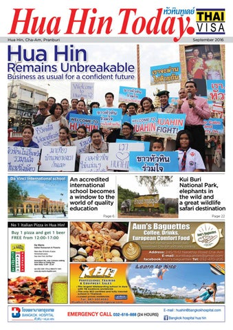 Hua Hin Today September 2016 by Hua Hin Today - issuu Homemade Bbq Grill Designs Hin E A on