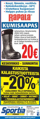 Sportia pekka 31 8 by Sportia-Pekka Sportia-Pekka - Issuu