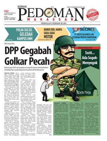 Edisi 34 31 Agustus 2016 Pedoman Makassar By Pedoman Makassar Issuu
