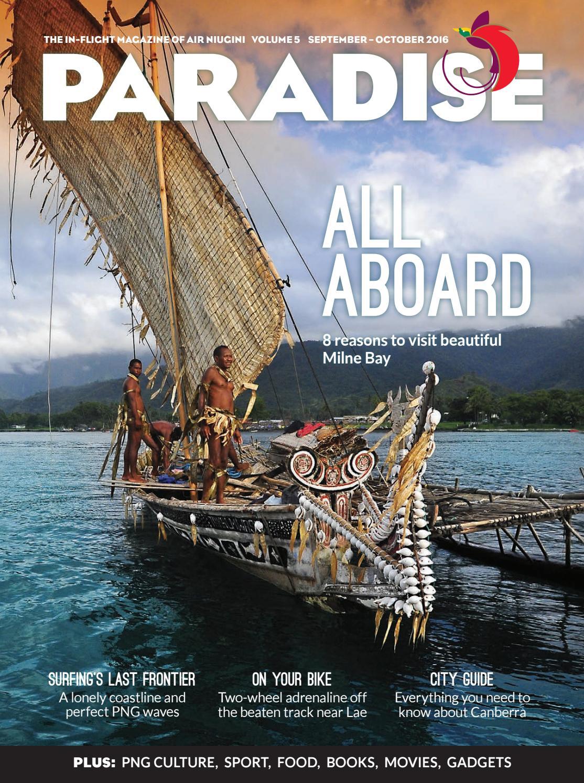 Paradise  the in-flight magazine of Air Niugini 08324bbf1e74