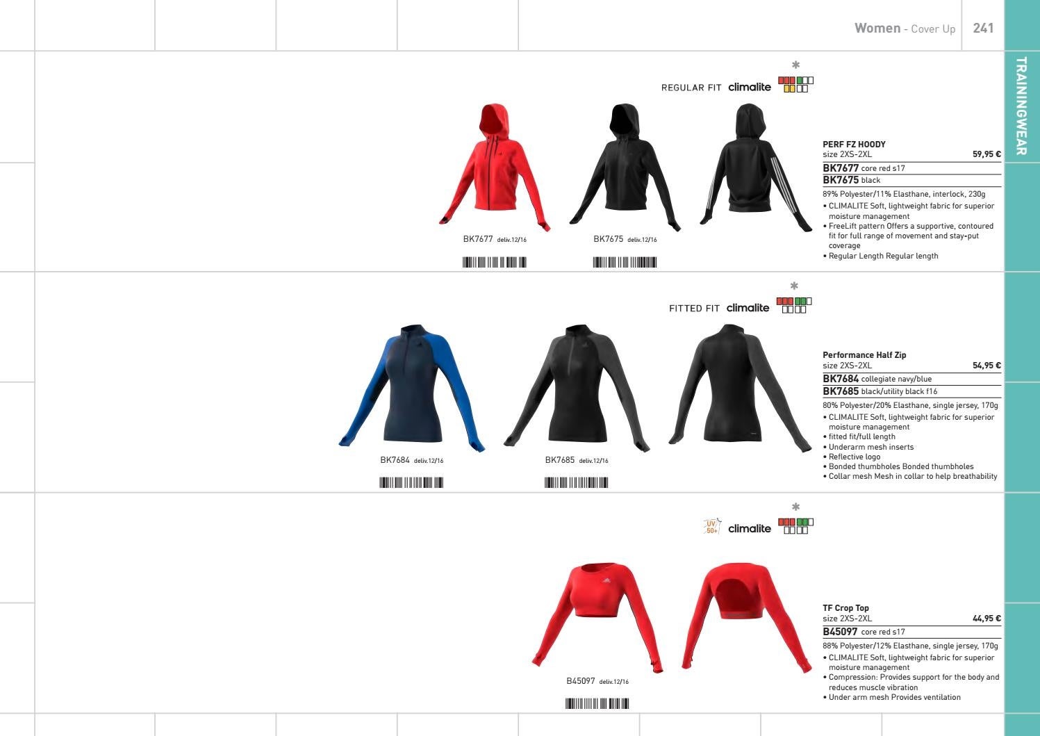 Adidas apparel 2017 q1 by Euroteamsport Vilshofen issuu