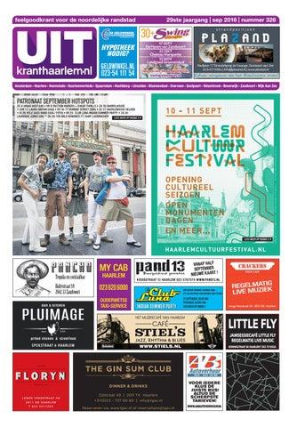 Uitkrant Haarlem September 2016 By Uitgeverij Luna Issuu