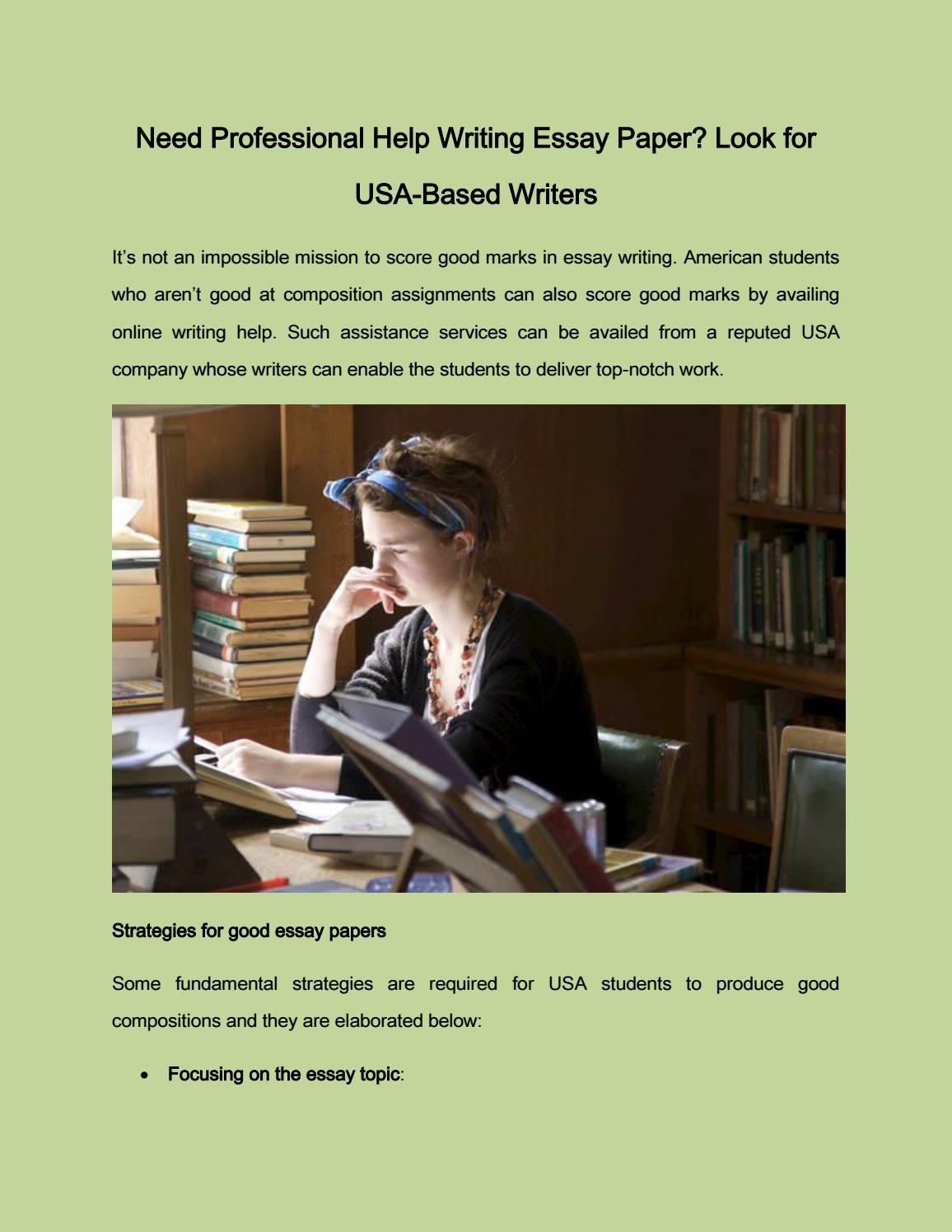 Need Professional Help Writing Essay Paper By Rose Robinson  Issuu