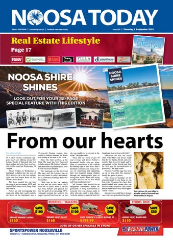 aaef6a947 Noosa Today - 01st September 2016 by Star News Group - issuu