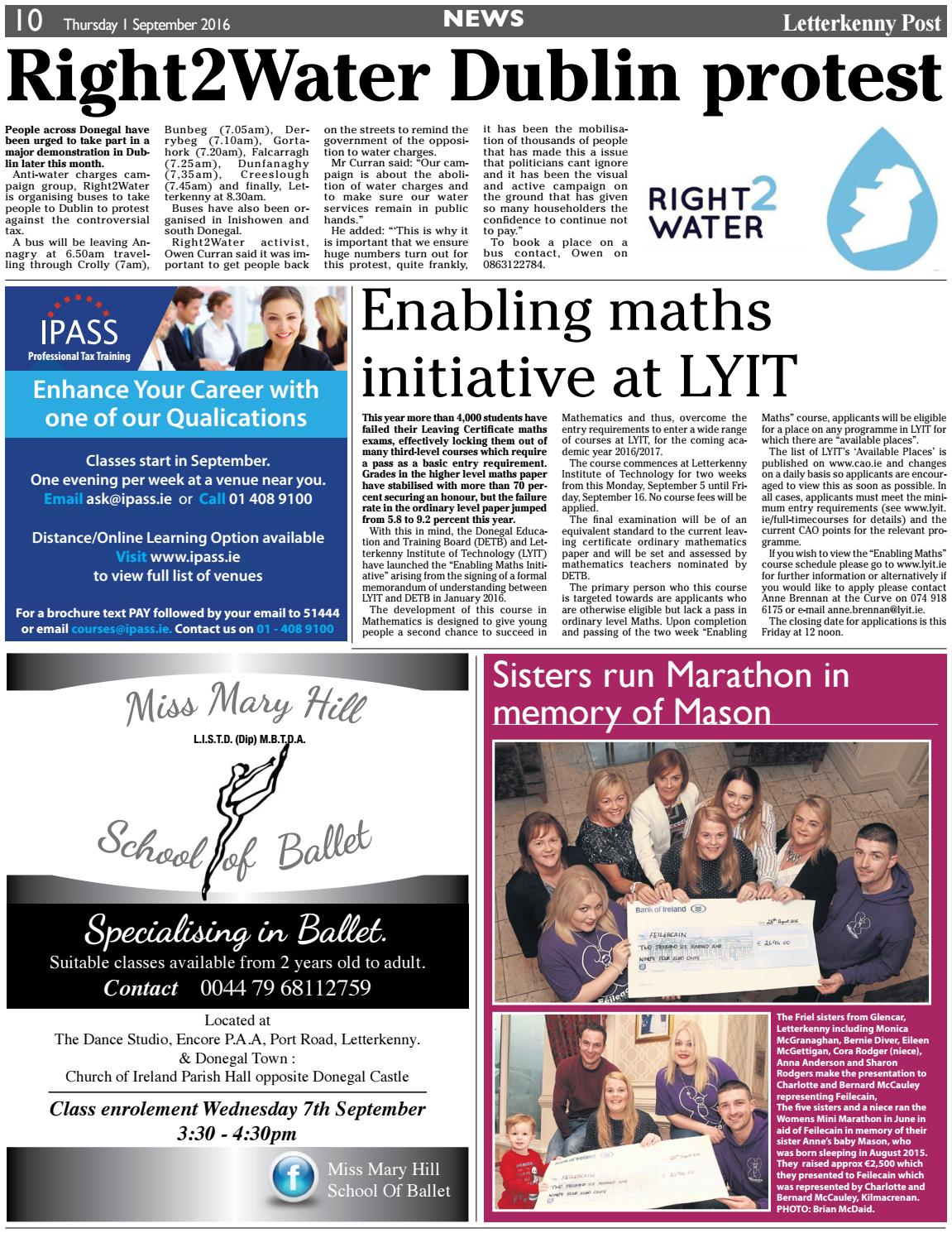 Letterkenny Post 01 09 16 By River Media Newspapers Issuu