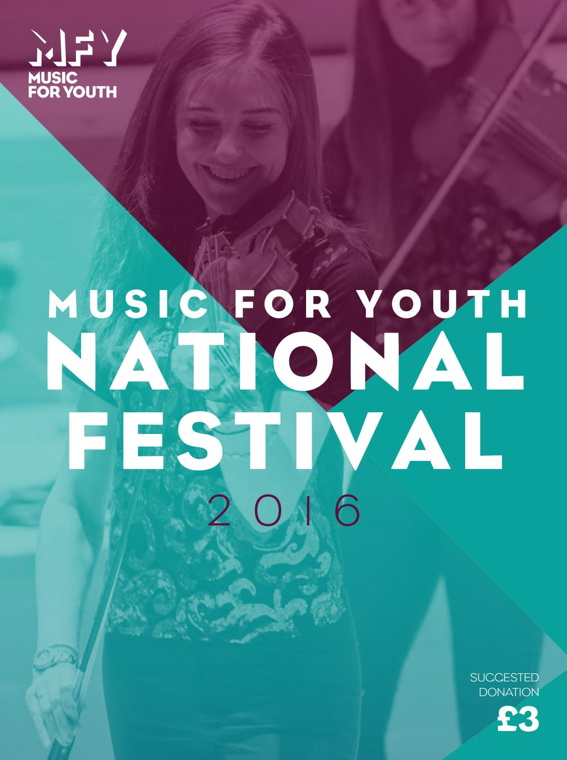 Music for Youth National Festival 2016 Programme by Music for Youth ...