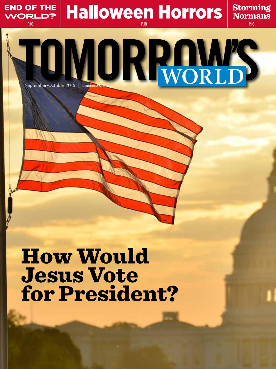 Sept-Oct 2016 by Tomorrow's World - issuu