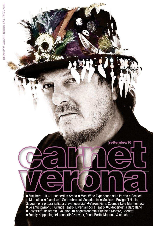 Carnet Verona Settembre 2016 by Staff CarnetVerona - issuu 0af46fa520f3