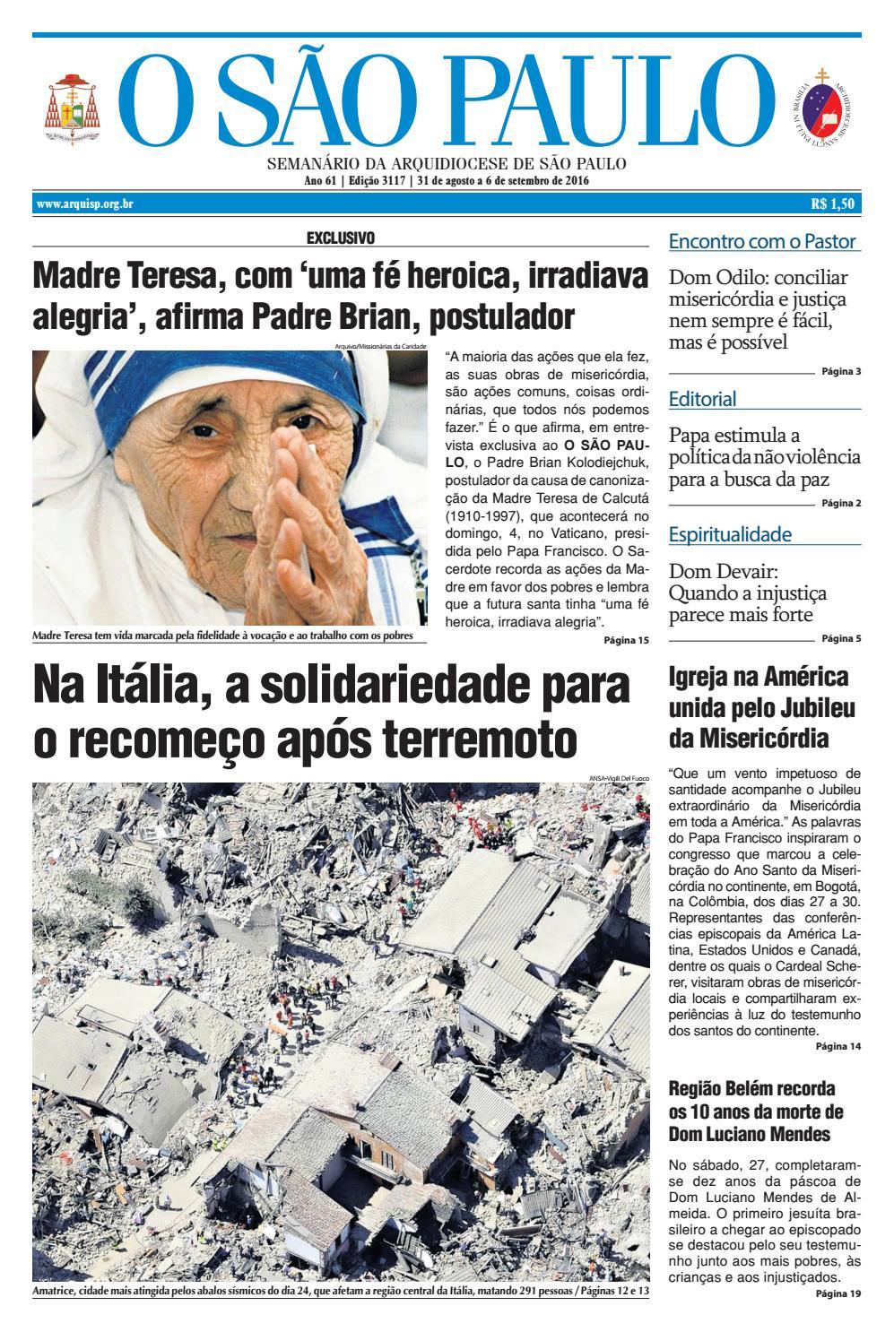 O SÃO PAULO - 3117 by jornal O SAO PAULO - issuu 221a73988e409