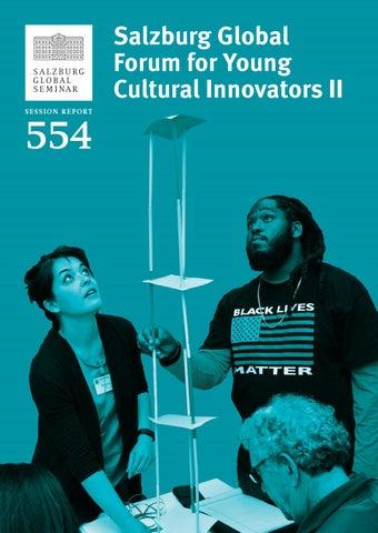 Salzburg Global Forum for Young Cultural Innovators II by Salzburg
