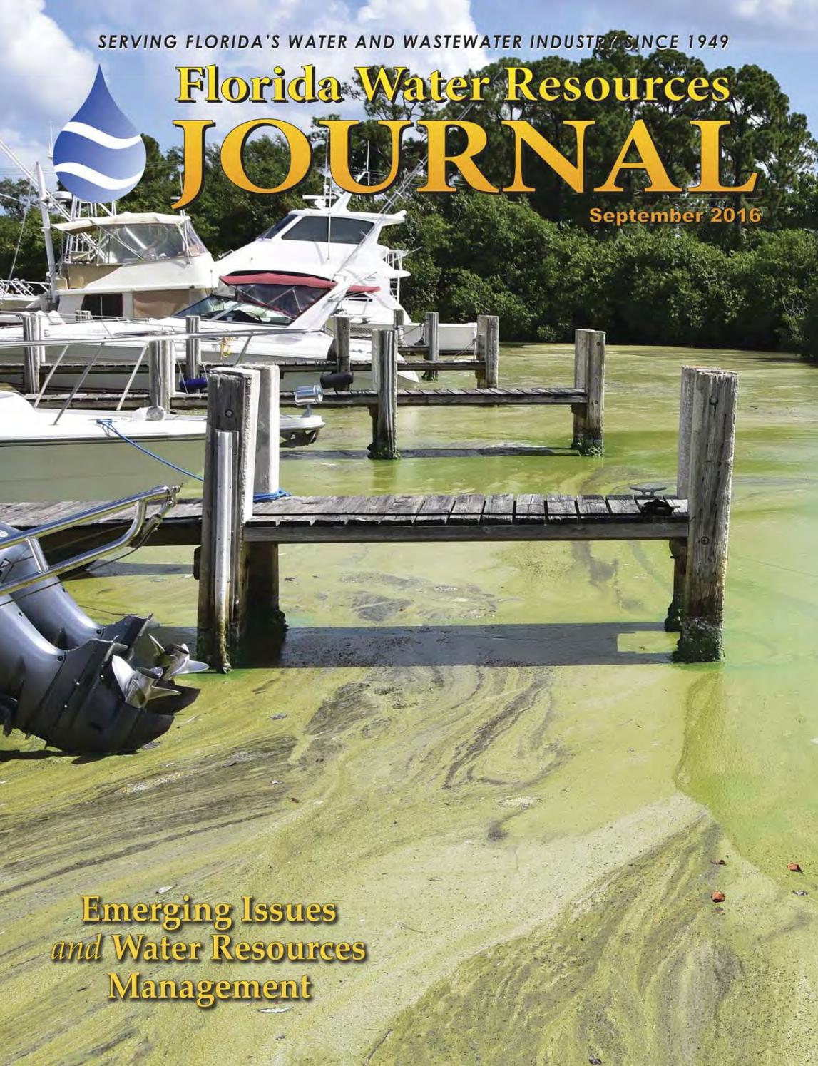 Florida Water Resources Journal - September 2016 by Florida Water ...